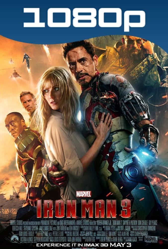 Iron Man 3 Hd 1080p Español Latino Dual