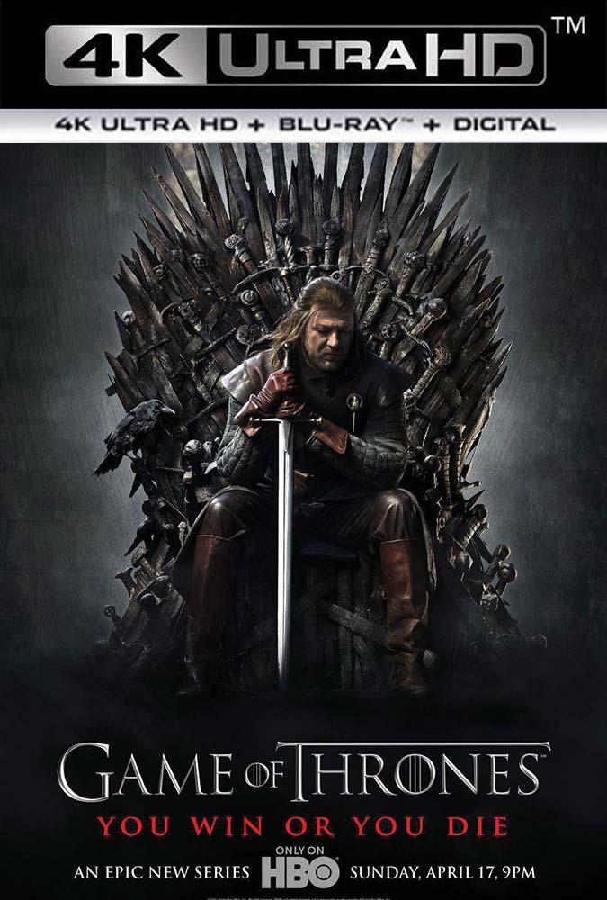 Game of Thrones Season 1 Completa 4K UHD HDR
