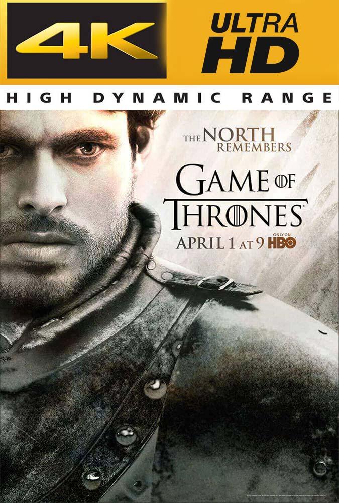 Game of Thrones Temporada 2 Completa Trial UHD 4K Latino