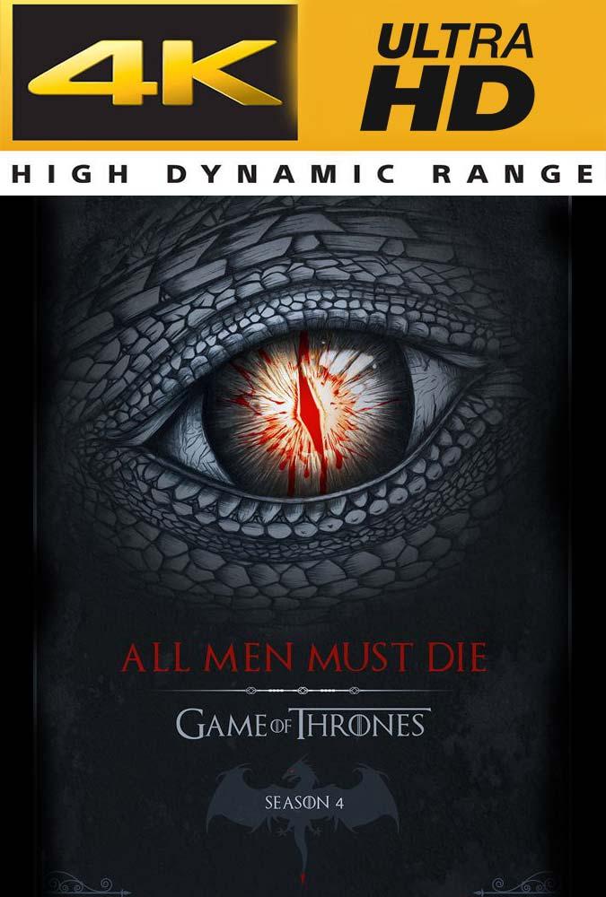 Game of Thrones Temporada 4 Completa 4K UHD Latino