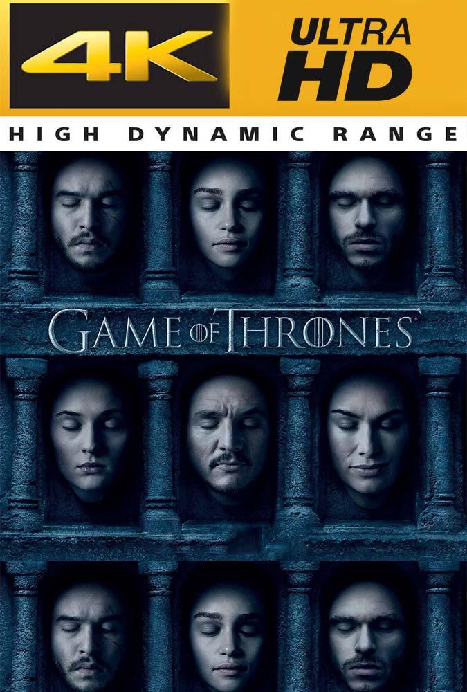 Game of Thrones Temporada 6 UHD 4K Trial Latino
