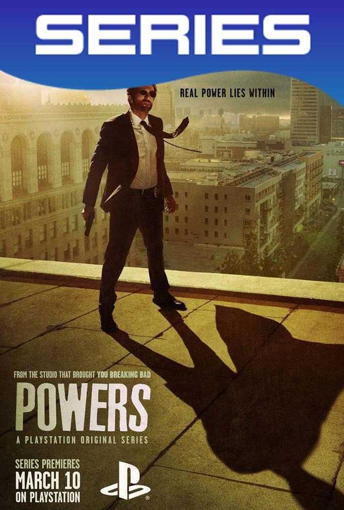 Powers Temporada 1 Completa HD 720p Latino