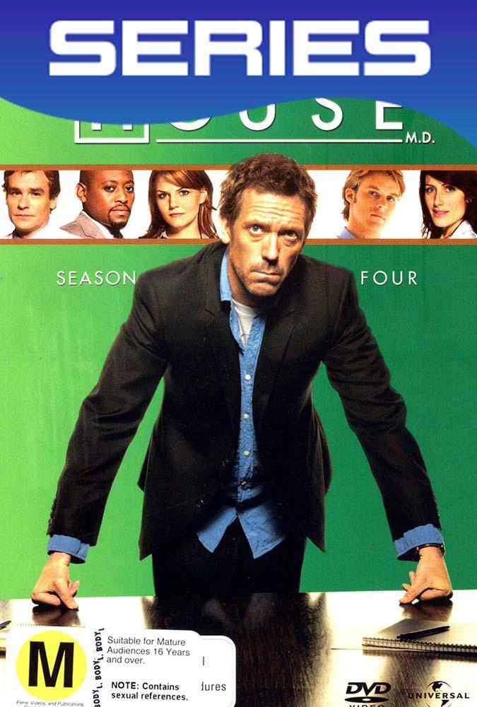 Dr House Temporada 4 Completa HD 1080p Latino