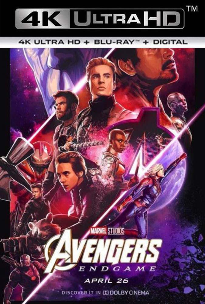 Avengers Endgame (2019) 4K UHD HDR Latino