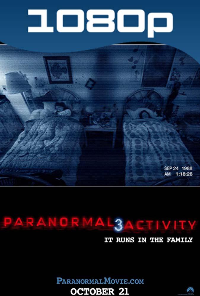 Actividad Paranormal 3 (2011) HD 1080p Latino