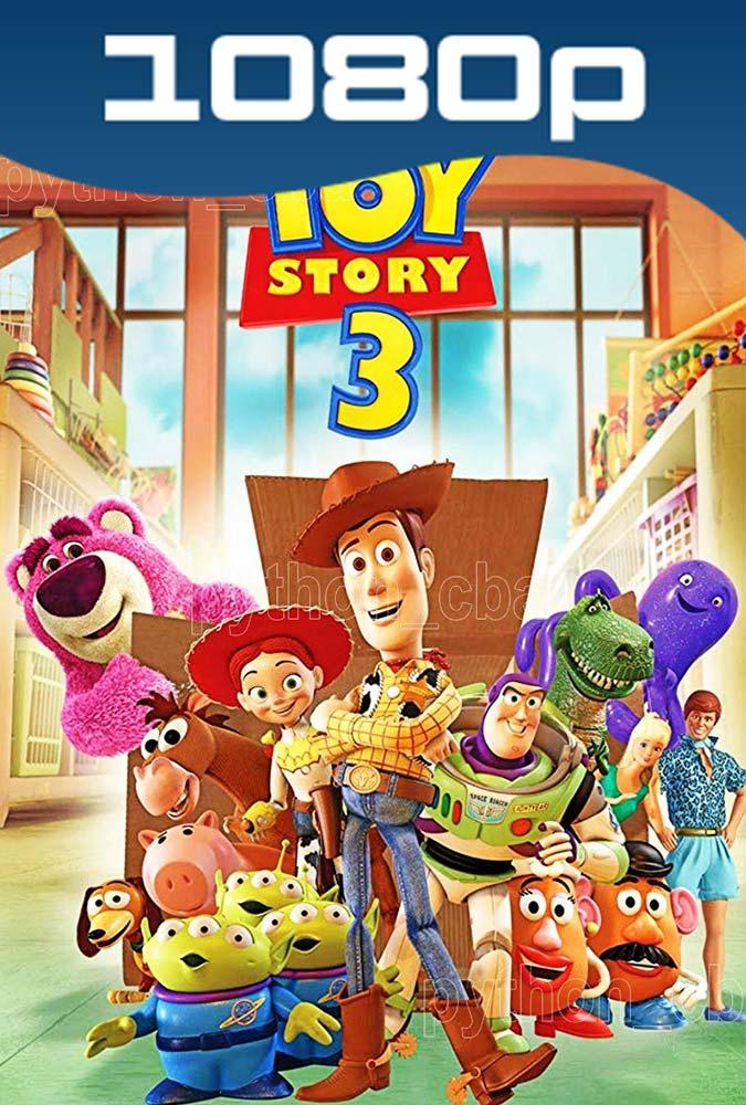 Toy Story 3 (2010) HD 1080p Latino