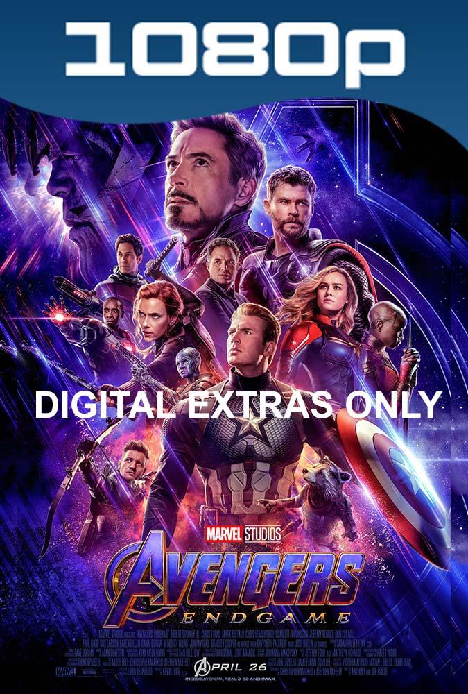 Avengers Endgame (2019) Digital Extras Only HD 1080p