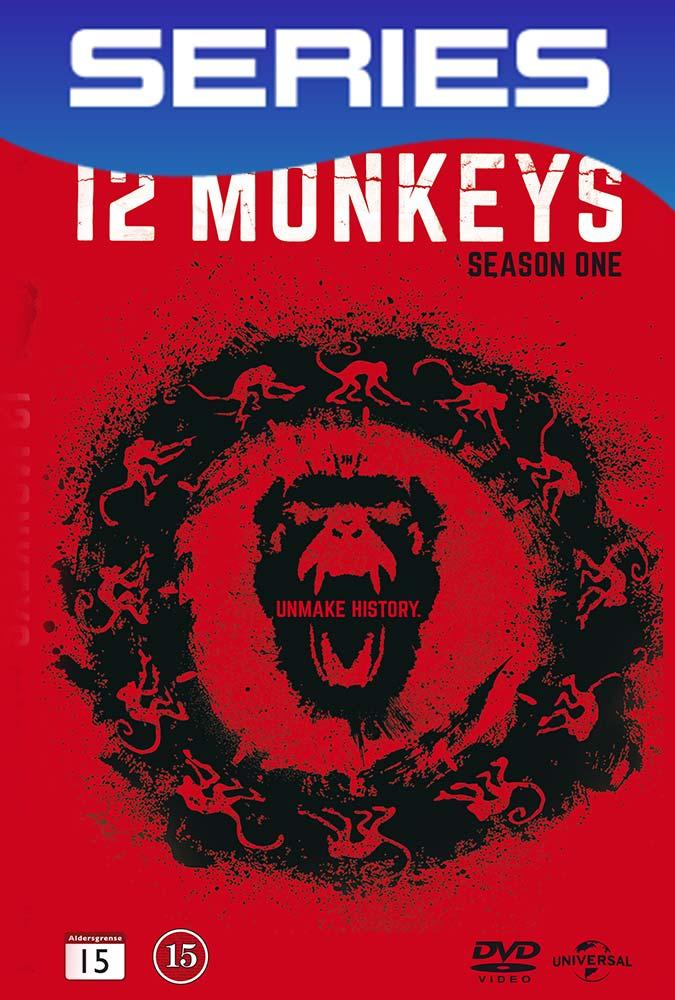 12 Monkeys Temporada 1 Completa HD 1080p Latino-Ingles