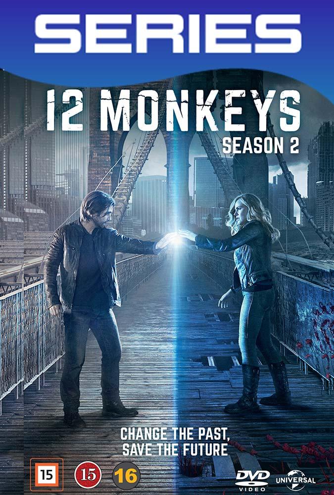 12 Monkeys Temporada 2 Completa HD 1080p Latino-Ingles