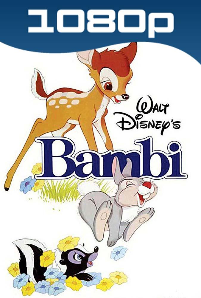 Bambi (1942) HD 1080p Latino
