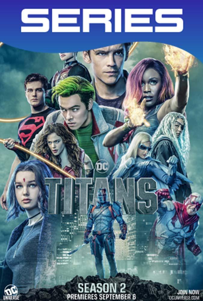 Titans Temporada 2 Completa HD 1080p Latino