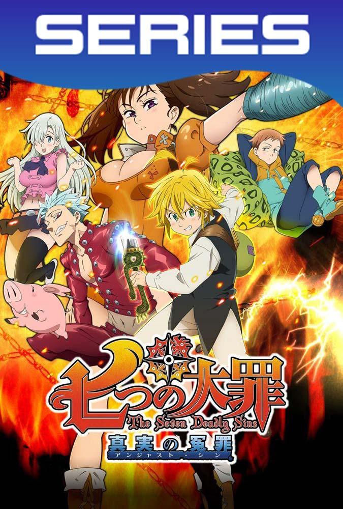 Nanatsu no Taizai Temporada 1 Completa HD 1080p Latino