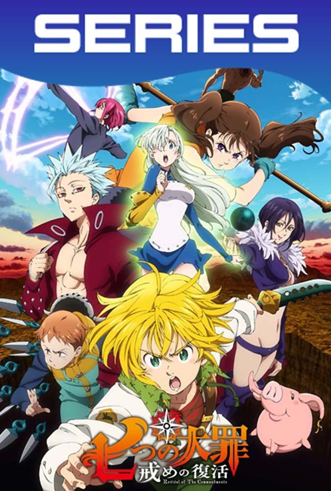 Nanatsu No Taizai Temporada 2 Completa HD 1080p Latino