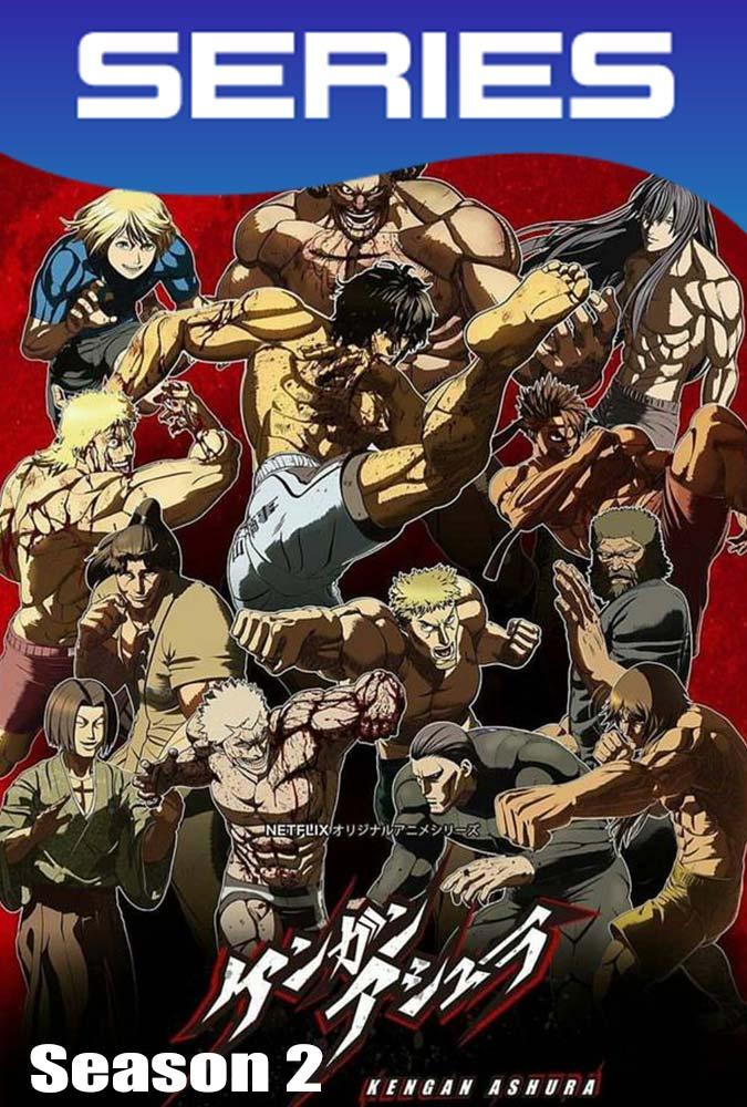 Kengan Ashura Temporada 2 Completa HD 1080p Latino